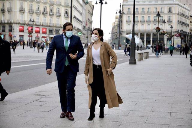 Encuentro Paco Núñez y Díaz Ayuso