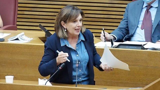 La portavoz de Sanidad del PSPV en Les Corts Valencianes, Carmen Martínez