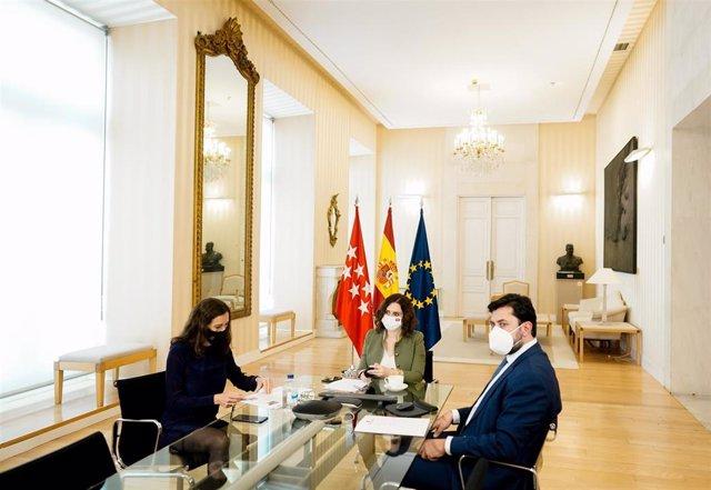 Ayuso interviene telemáticamente en pleno del Comité Europeo de las Regiones