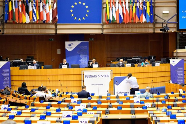 Reunión del Comité de las Regiones en Bruselas
