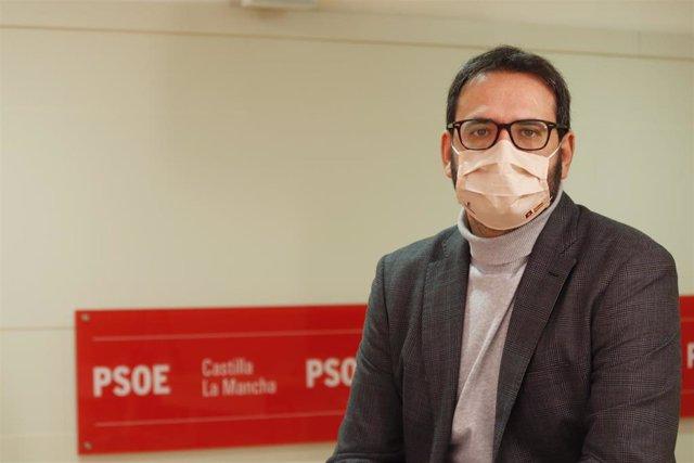 El secretario regional del PSOE, Sergio Gutiérrez,