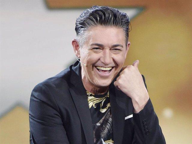 Ángel Garó en el plató de 'GH DÚO'