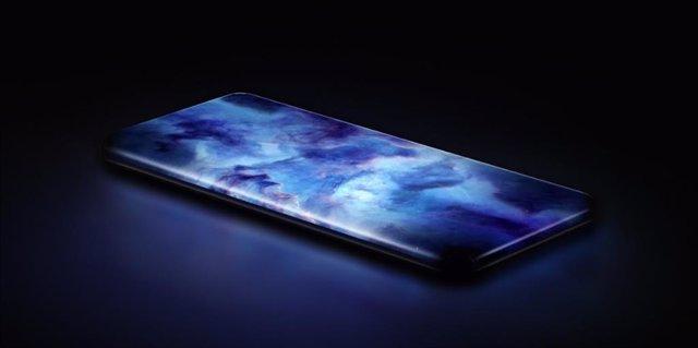 Concept smartphone' de Xiaomi, con pantalla en cascada de cuatro curvas