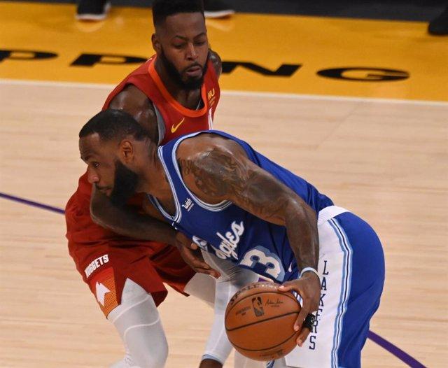 Lebron James en el Lakers - Nuggets