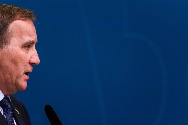 El primer ministro sueco, Stefan Lofven