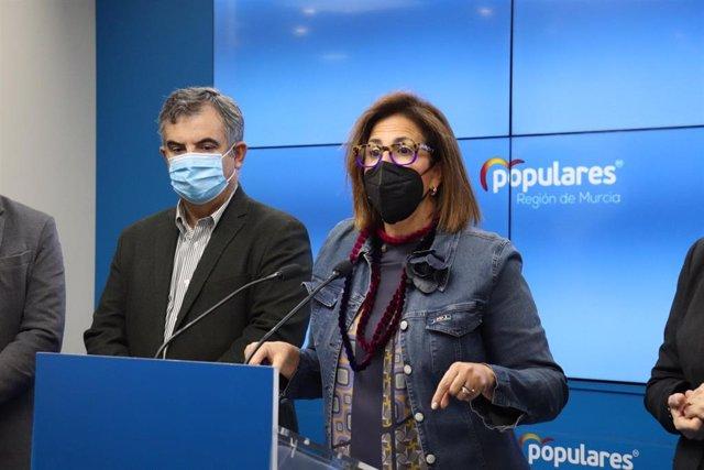 La diputada nacional del PP, Isabel Borrego