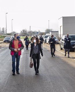 El Ayuntamiento de Villamediana da el visto bueno a la recepción definitiva del Polígono Industrial de Puente Madre