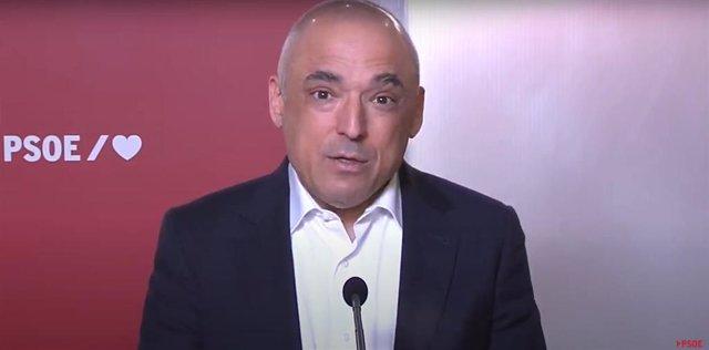 El secretario general del Grupo Socialista en el Congreso, Rafael Simancas.