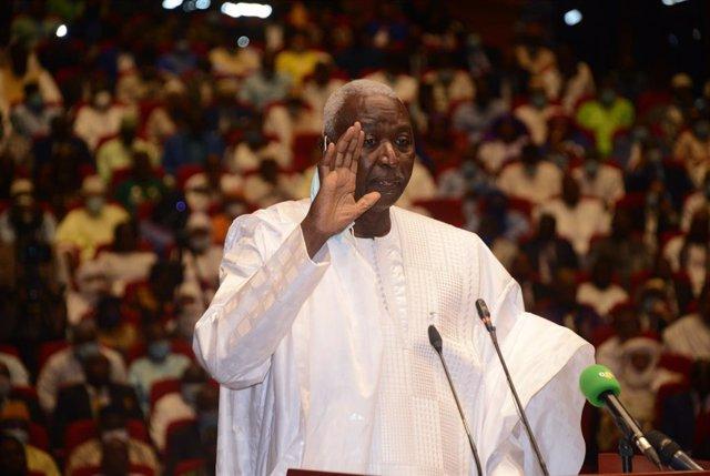 El presidente de transición de Malí, Bah Ndaw.