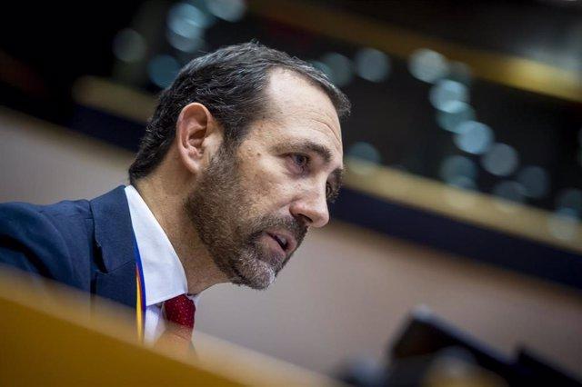 El eurodiputado de Ciudadanos y portavoz de Transporte y Turismo del grupo liberal europeo, José Ramón Bauzá.
