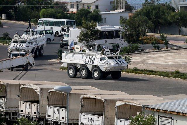 Soldados de la UNIFIL en Líbano. Marwan Naamani/dpa