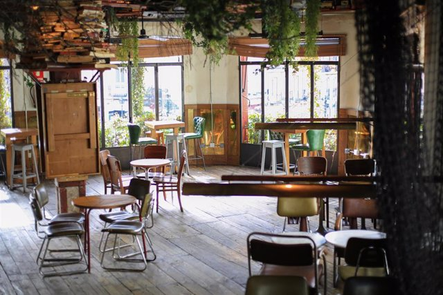 El bar 'El Viajero', en el barrio de La Latina.