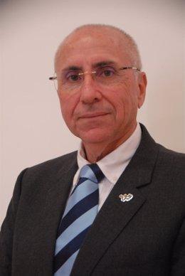 El presidente autonomico de Cruz Roja Canarias, Antonio Rico