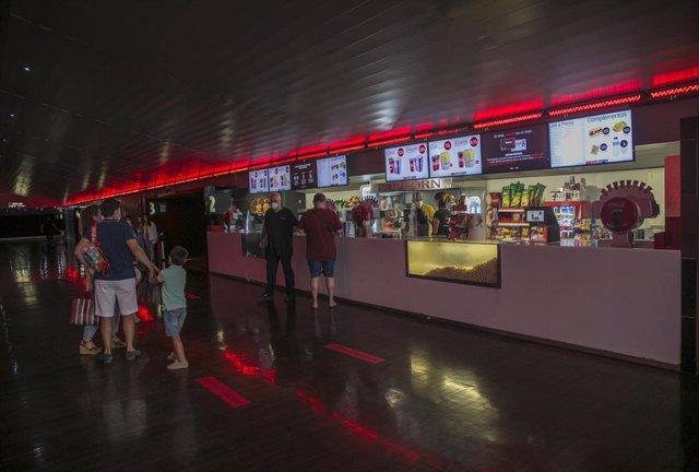 Cines del centro comercial Nervión Plaza