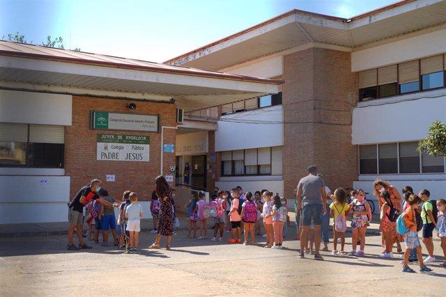 Vuelta al colegio en Ayamonte.