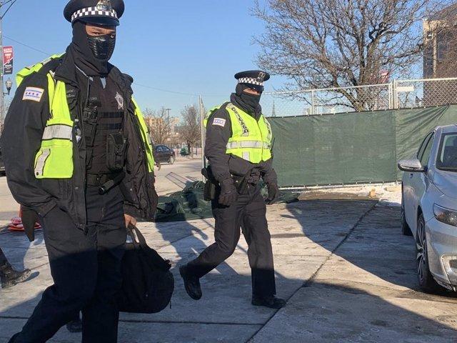 Agentes de la Policía de Chicago
