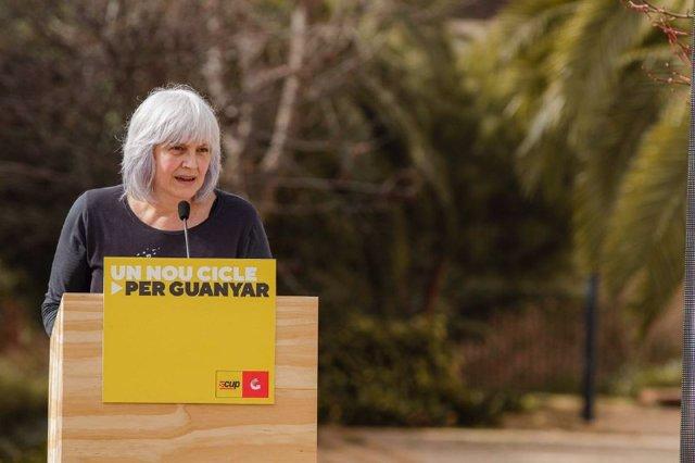 La candidta de la CUP a las elecciones catalanas, Dolors Sabater