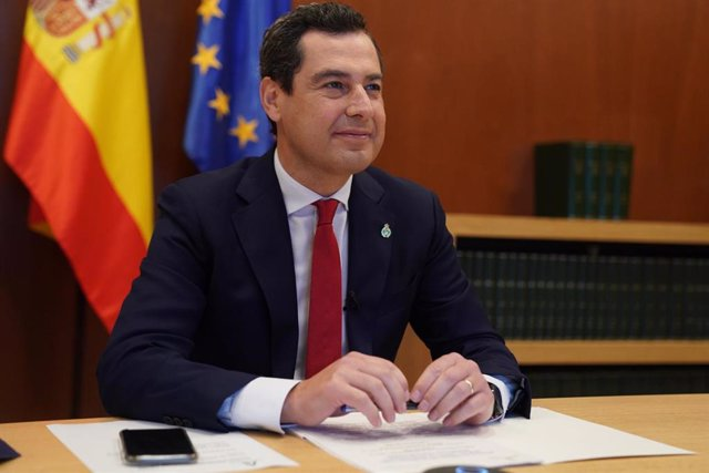 El presidente de la Junta, Juanma Moreno