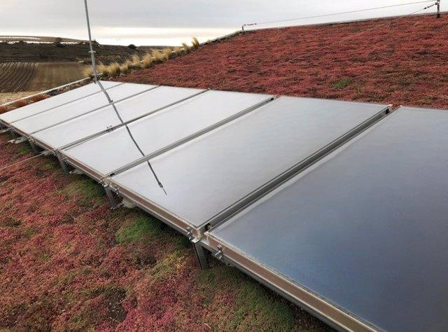 Bodega Beronia de Rioja con energía termosolar