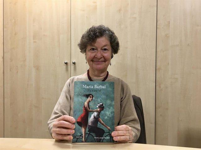 L'escriptora Maria Barbal, guanyadora del Premi Josep Pla amb 'Tàndem'