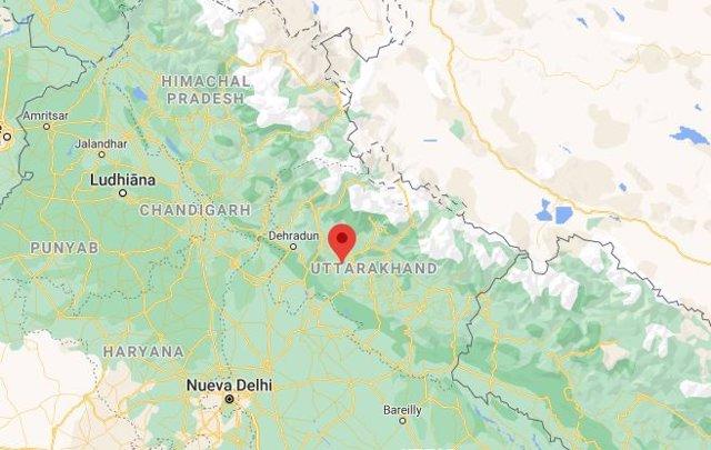 Estado de Uttarajand
