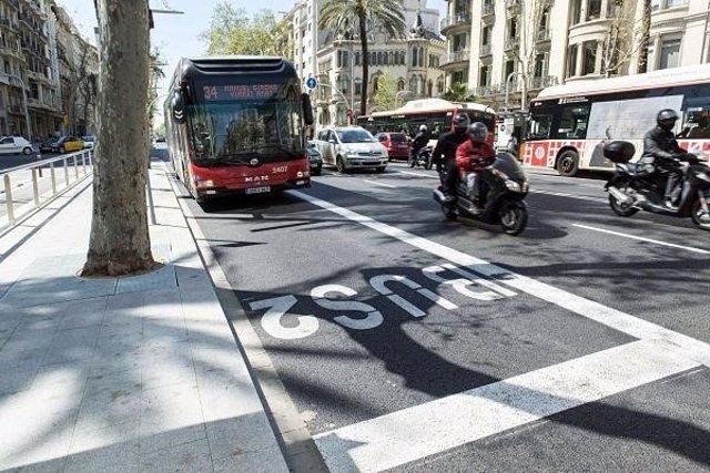 L'Ajuntament de Barcelona comença les obres de senyalització de l'avinguda Diagonal i la Gran Via