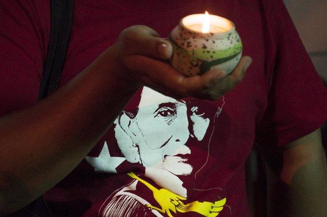 La líder de facto de Birmània, Aung San Suu Kyi