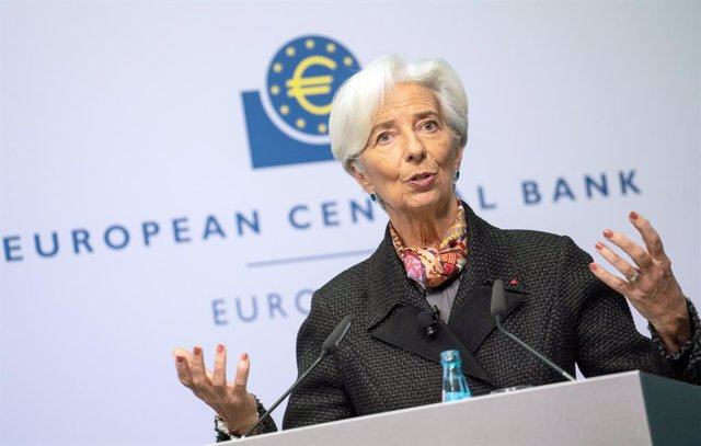 FILED - 27 November 2019, Hessen, Frankfurt/Main: Christine Lagarde, President of the European Central Bank (ECB), speaks at a press conference before signing the new euro banknotes. The European Central Bank left borrowing costs at historic lows on Thurs