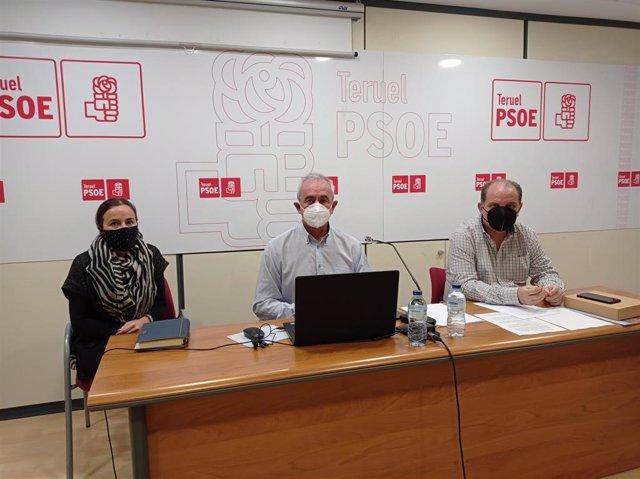 PSOE de Ayuntamiento de Teruel pedirá a Buj que se desinfecten zonas comunes y mobiliario urbano de ciudad.