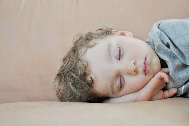 Niño dormir, dormido