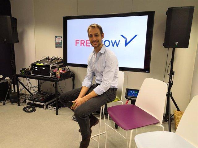 El director general de Free Now en España, Jaime Rodríguez.