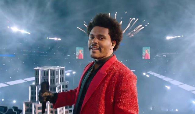 Actuación de The Weeknd en la Super Bowl 2021