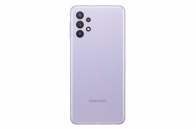 Samsung Galaxy A32 5G en color morado