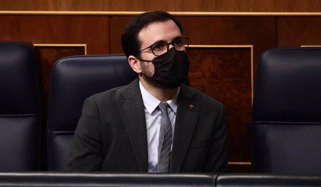 El ministro de Consumo, Alberto Garzón, en una foto de archivo.