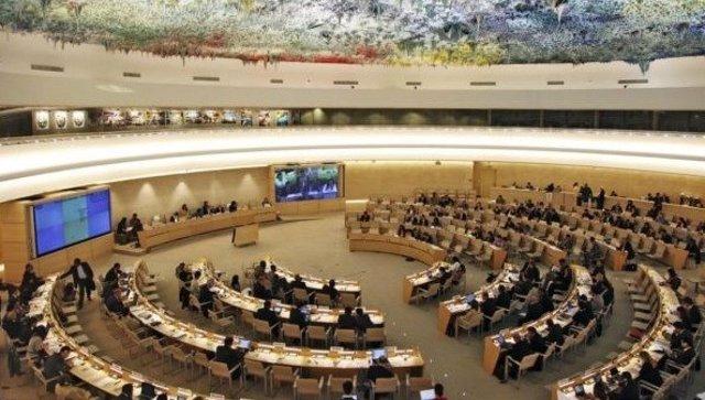 Imagen de archivo de un pleno del Consejo de Derechos Humanos de Naciones Unidas.