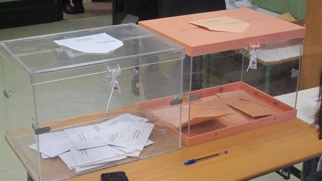 Urna electoral (Archivo)