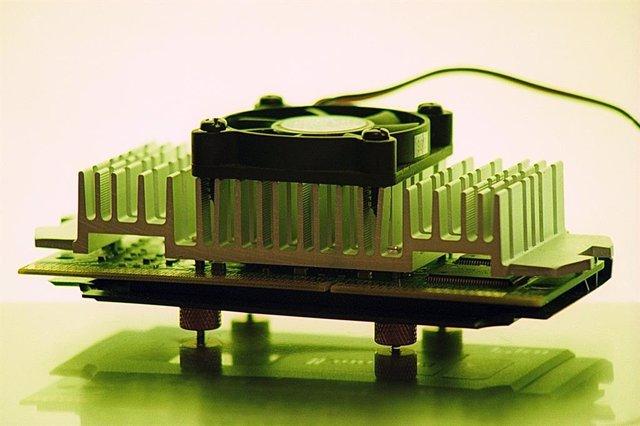 Chip electrónico.