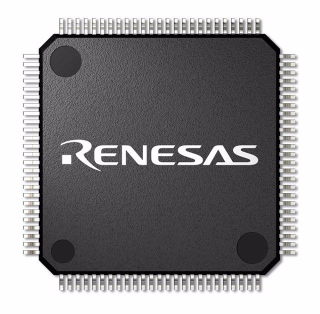 Chip del fabricante japonés de semiconductores Renesas Electronics
