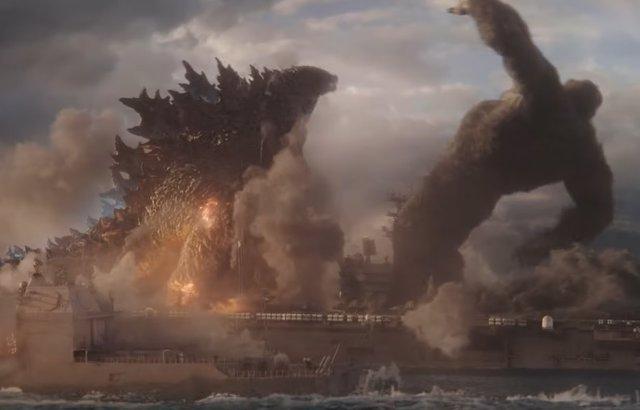 Godzilla abofetea a King Kong en el nuevo tráiler de Godzilla vs Kong
