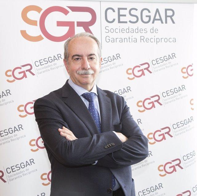 Antonio Couceiro, presidente de la Confederación Española de Sociedades de Garantía