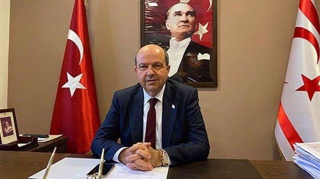 El presidente de la República Turca del Norte de Chipre, Ersin Tatar