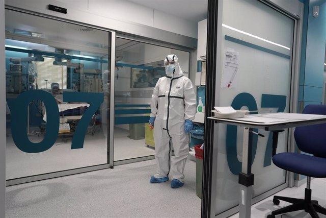 UCI en el Hospital Ramón y Cajal