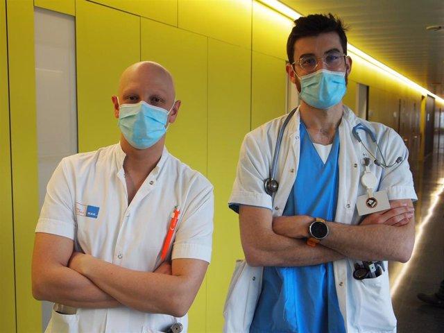 Miguel Àngel Rubio y Bernat Bertran, Hospital del Mar