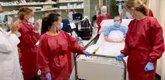 Foto: La fisioterapia acorta dos días la estancia de los pacientes covid en las UCI