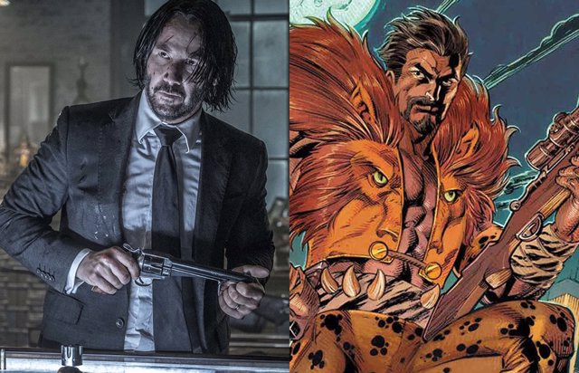 Será Keanu Reeves Kraven el Cazador en el Universo Spider-Man?