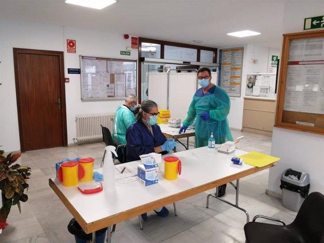 Cádiz.-Coronavirus.- Trabajadores y residentes de la residencia Matía Calvo de la Diputación dan negativo en Covid-19