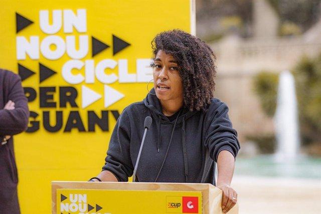 La número 5 de la CUP a les eleccions catalanes, Basha Changuerra