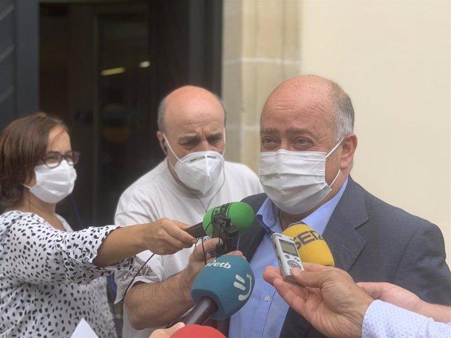 Portavoz de grupo parlamentario de PP+Cs, Carmelo Barrio.