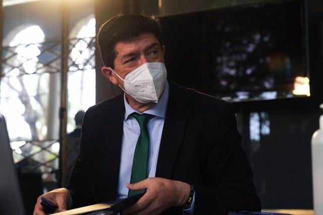 El vicepresident de la Junta i coordinador autonòmic de Ciutadans a Andalusia, Juan Marín