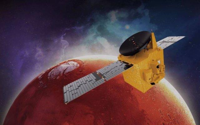 Ilsutración de la sonda Hope